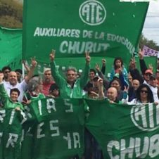 Chubut en lucha, conflicto laboral.